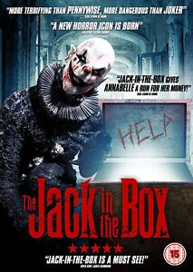 THE JACK IN THE BOX (15) DVD - NEW SEALED**FREE POST**