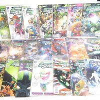 22 x DC Green Lantern New Guardians Comics Bundle