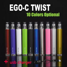 eGo Type C TWIST Variable Voltage  Battery 650mAh + USB Charger Free shipping