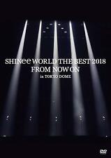 SHINee WORLD THE BEST 2018 DVD+Photobooklet FROM NOW ON in TOKYO DOME *Japan new