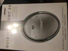 Bose QuietComfort 35 QC35 Noise Cancelling Wireless Headphones - Silver