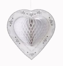 Pack of 3 Talking Tables Decadent Honeycomb Heart Decorations Valentine Box62 65