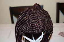 Women's Wigs Cornrows Braids Handmade Stylish Durable Many Colors!