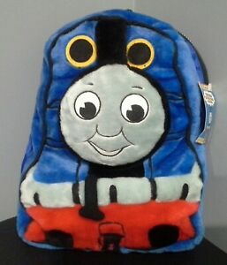 Vintage Fluffy Thomas The Tank Engine Backpack Bag New With Tag Funtastic 1996