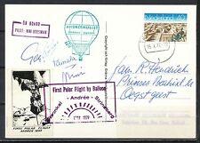 1st POLAR FLIGHT 1897-1997 BALLONVAART N. BOESMAN TERHEYDEN 15.X.1977      Mt34