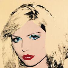 Warhol Andy Debbie Harry Pop Art Canvas 17 x 17   #5669