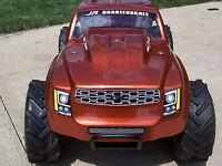 R/C 1/4 Scale Monster Truck Body by. Jr Quarterscale llc