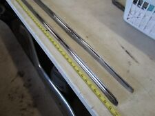 1955 Ford Convertible Top of Quarter Stainless ( restored ) Left and Right