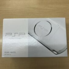 Used Sony Playstation Portable PSP 3000 White Console Battery Black JAPAN Boxed