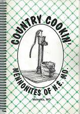 *MEMPHIS MO 1992 NE MISSOURI MENNONITES CHURCH *ETHNIC COOK BOOK *COUNTRY COOKIN
