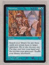 MTG - Intuitoin - Tempest - Rare NM/MT - Single