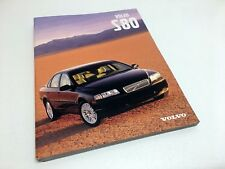 2000 Volvo S80 Brochure