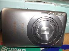 SILVER Canon IXUS 130 / PowerShot  14.1MP Digital Camera - VERY GOOD CONDITION