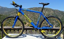 Cannondale F3000 Racing Team Blue Super Fatty SL Headshok Cane Creek Crono Wheel