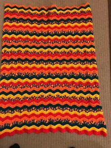 Handmade Crochet Baby Bassinet Car Cot Floor Pram Blanket 1 M X 1m