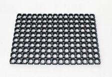 PI-SHEET TAPPETO IN GOMMA NERO 40X60 CM. ZERBINO PER ESTERNI MANGIASPORCO FANGO