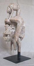 Amazing Old SENUFO SENOUFO Kpeliye Mask - Ivory Coast - circa early 1900