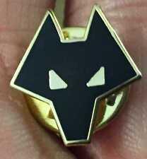 Wolverhampton WOLVES Tiny Nero Testa smalto pin badge