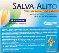 SALVA ALITO GIULIANI GUSTO CLASSICO 30 CPR MASTIC al CARDAMOMO SENZA ZUCCHERO