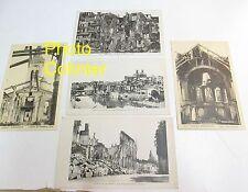Verdun bombardée - Ruines de la Grande Guerre Lot de 5 Cartes Postales 1914-1918