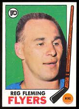 1969 70 TOPPS HOCKEY 95 REG FLEMING NM PHILADELPHIA FLYERS CARD