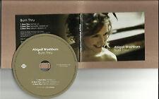 ABIGAIL WASHBURN Born Thru w/ ACOUSTIC & REMIX PROMO Radio DJ CD single 2011