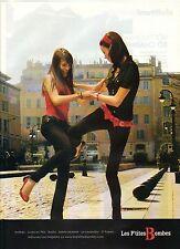 PUBLICITE ADVERTISING 2007  LES Petites Bombes à porter