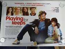 Playing For Keeps Gerard Butler Romance Original Film Movie Poster Quad 76x102cm