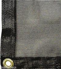 MESH TARP/SHADE CLOTH 15'x20'-woven fabric- 55% shade-patio/greenhouse netting