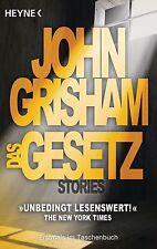 Das Gesetz  John Grisham   Thriller  Taschenbuch   ++Ungelesen++
