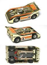 1975 Aurora AFX Mag Porsche Audi 510K Can-Am GOLD CHROME HO Slot Car Unused 1915