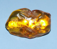 Amber Chunk Pin Brooch 10g Gorgeous Antique Genuine Baltic Honey