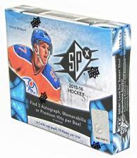 2015-16 Upper Deck SPx Hockey Factory Sealed 8 Box Hobby Case (McDavid RC!)