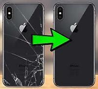 iPhone 8/8 Plus/X/XS/XR/XS Max Back Glass Repair Service