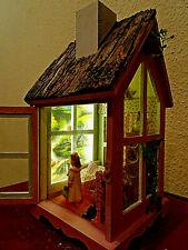 LED Laterne Diorama Dollhouse Ins Reich der Träume Miniatur 1/12 Akzent-Lampe