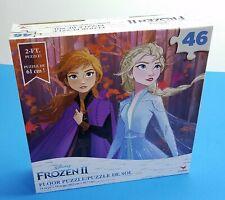 Disney Frozen II 46 Piece Educational Giant 2ft Floor Jigsaw Puzzle ELSA ANNA