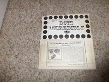 Nu Way Six Card Repeat Harding & Dots Incredible Alco Vintage
