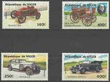 Timbres Voitures Niger 644/7 ** lot 16409