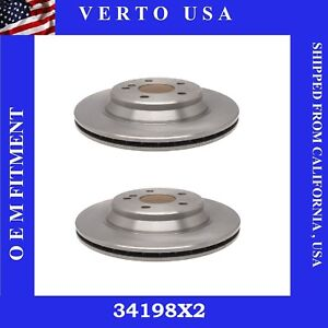 Rear Brake Rotors For Mercedes-Benz S430, S500 Base on Fitment Chart