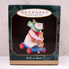 1999 Hallmark Miniature Ornament - Roll-a-Bear