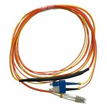 1 Meter LC- 50/125 MM/SC- SM Mode Conditioning Fiber Optic Patch Cable (SC Equip