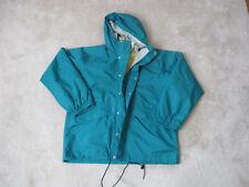 VINTAGE LL Bean Parka Jacket Adult Large Green Anorak Coat Hooded Mens 90s *
