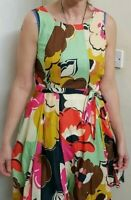Phase Eight floral, Multicolored fit and flare Dress Size 10. Party/wedding