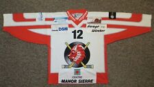 EHC Visp (Swiss League) / #12 - OCHSNER - MENS Ice-hockey Jersey / Shirt. Size L