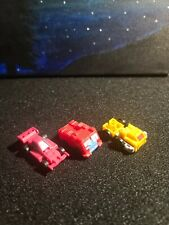 G1 VINTAGE TRANSFORMERS MICROMASTERS LOT OF 3