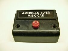 Relettered 1 Button Controller for American Flyer Milk Car