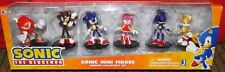 SONIC THE HEDGEHOG Modern Action Mini Figure Set Toy collectors Amy Shadow Rare