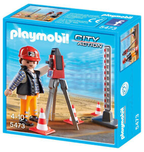 Playmobil 5473 Topógrafo City Action