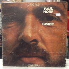 EXC LP~PAUL HORN~Inside~{1968~EPIC~ORANGE LABEL~2nd]
