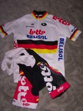 Original Vermarc German Champion Team Lotto Belisol bib short + Jersey Gr. M